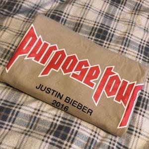 Justin Bieber 2016 Purpose Tour Shirt